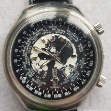 Relojes automáticos: RICOH AUTOMATICO HORAS MUNDIALES O GMT ACERO 40MM. Lote 285124523