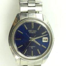 Relojes automáticos: VINTAGE RELOJ PULSERA SEIKO AUTOMATIC 17 JEWELS FECHA. Lote 285462448
