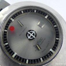 Relojes automáticos: VINTAGE RELOJ PULSERA ZODIAC AUTOMATIC SIUZA FECHA. Lote 285462938