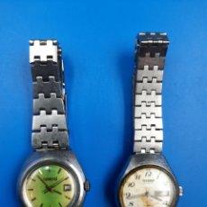 Relojes automáticos: RELOJES AUTOMÁTICOS 21 RUBIS JEWELS CITIZEN Y ORIENT. Lote 285656183
