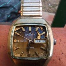 Relógios automáticos: RADIANT BLUMAR AUTOMATIC 25 JEWELS ETA 2886-2.. Lote 287117328
