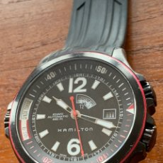 Relojes automáticos: RELOJ HAMILTON KHAKI GMT. Lote 288990663