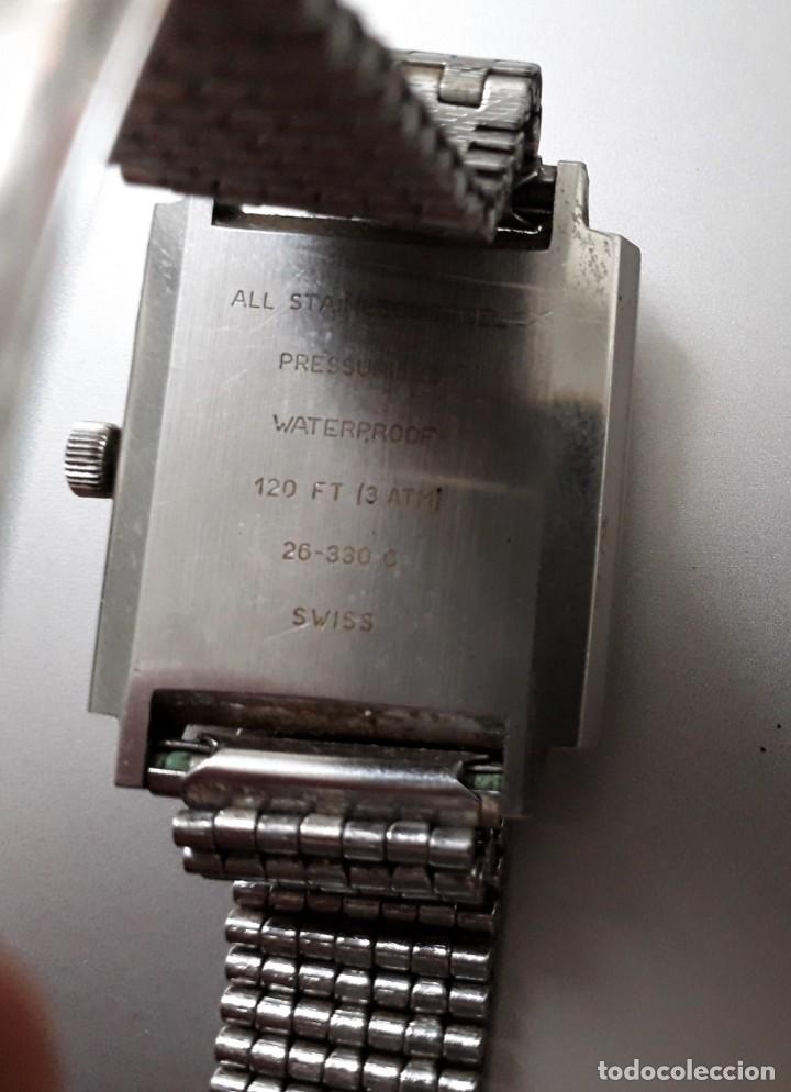 Relojes automáticos: ANTIGUO RELOJ AUTOMATICO ERMANO - Foto 2 - 289351083