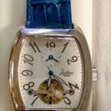 Relojes automáticos: RELOJ DE CABALLERO AUTOMATICO JUSTINA SINCE 1898 REF-8899. Lote 293621268