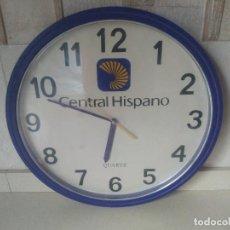 Relojes automáticos: ANTIGUO RELOJ QUARZ DEL BANCO CENTRAL HISPANO. DE ANTIGUA OFICINA. Lote 293942273