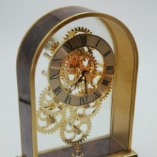 Orologi automatici: ORIGINAL VINTAGE RELOJ SKELETON DE SOBREMESA. 20 CM.. Lote 294453108