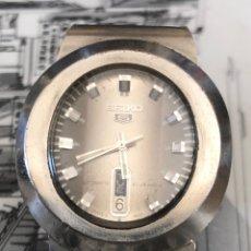 Relojes automáticos: RELOJ SEIKO N5 AUTOMÁTICO ELIPSOIDAL MODELO 6119-5450. Lote 297048598