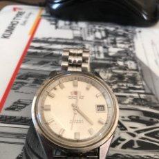 Relojes automáticos: RELOJ ORIENT AUTOMÁTICO PULSADOR Y RULETA REPASADO. Lote 297057823