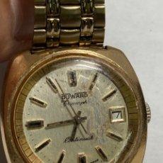 Relojes automáticos: RELOJ DUWARD TRIUMPH CONTINÚALES CAJA CHAPA ORO EN FUNCIONAMIENTO 60 AÑOS. Lote 297059888