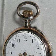 Relojes de bolsillo: RELOJ BOLSILLO DE PLATA . Lote 12286417