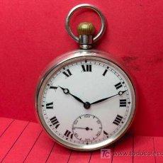 Relojes de bolsillo: ,,,TRENTON,,,RELOJ DE BOLSILLO,,,PLATA UNA TAPA,( B - 95 ). Lote 23551698