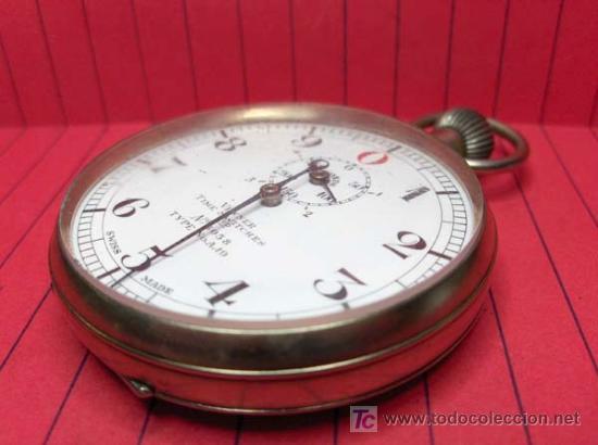 Relojes de bolsillo: ,,,CRONÓMETRO,,,GRADUACIÓN DECIMAL. ( B -188 ) . - Foto 3 - 24559704