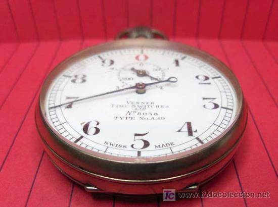 Relojes de bolsillo: ,,,CRONÓMETRO,,,GRADUACIÓN DECIMAL. ( B -188 ) . - Foto 4 - 24559704