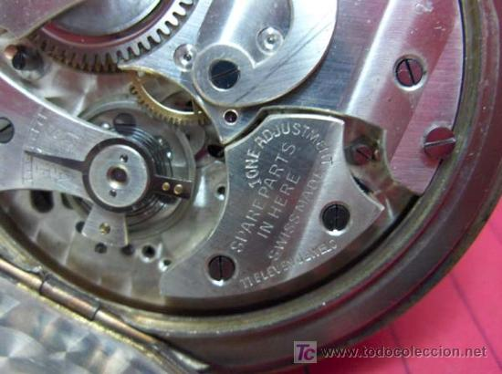 Relojes de bolsillo: ,,,CRONÓMETRO,,,GRADUACIÓN DECIMAL. ( B -188 ) . - Foto 10 - 24559704