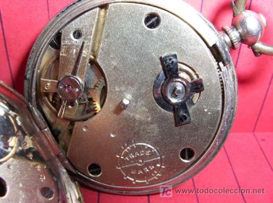 Relojes de bolsillo: ,,,EXHIBITION PHILADELPHIA 1876,,,RELOJ DE BOLSILLO LLAVERO. ( B -190 ) . - Foto 9 - 24685712