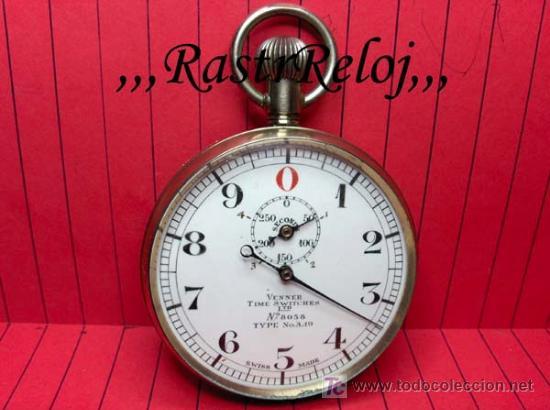,,,CRONÓMETRO,,,GRADUACIÓN DECIMAL. ( B -188 ) . (Relojes - Bolsillo Carga Manual)