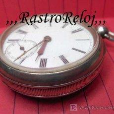 Relojes de bolsillo: ,,,WEATHERBY - MARKET DRAYTON,,,LLAVERO INGLÉS PLATA . ( B - 212 ).. Lote 23458433