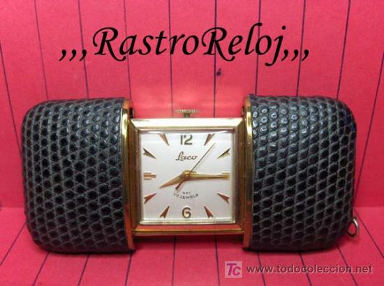 ,,,LACO,,, PEQUEÑO RELOJ BOLSILLO DE ESTUCHE. ( B - 17 ) (Relojes - Bolsillo Carga Manual)
