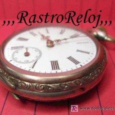 Relojes de bolsillo: ,,, PLATA DOS TAPAS,,,RLOJ DE BOLSILLO.( B - 119 ).. Lote 23458442