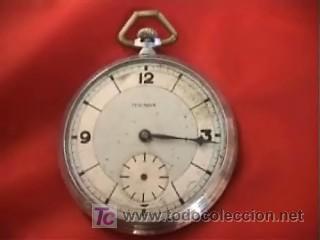 TENOX RELOJ BOLSILLO ART DECÓ 50MM (Relojes - Bolsillo Carga Manual)