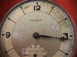 Relojes de bolsillo: TENOX RELOJ BOLSILLO ART DECÓ 50MM - Foto 2 - 10302282