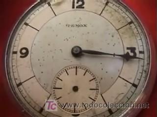 Relojes de bolsillo: TENOX RELOJ BOLSILLO ART DECÓ 50MM - Foto 3 - 10302282