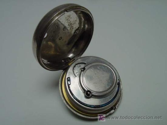 Relojes de bolsillo: RELOJ INGLES DE DOBLE CAJA ELLICOT - Foto 6 - 27196971