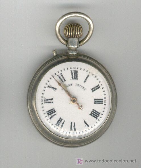ANTIGUO RELOJ ROSKOPF, EN FUNCIONAMIENTO (Relojes - Bolsillo Carga Manual)