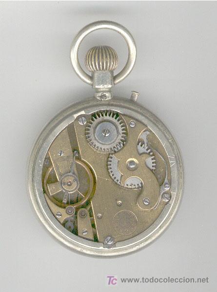 Relojes de bolsillo: ANTIGUO RELOJ ROSKOPF, EN FUNCIONAMIENTO - Foto 2 - 26590557