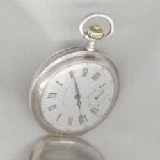 Relojes de bolsillo: RELOJ DE PLATA, ANTIGUO SIGLO XIX. Lote 25953997