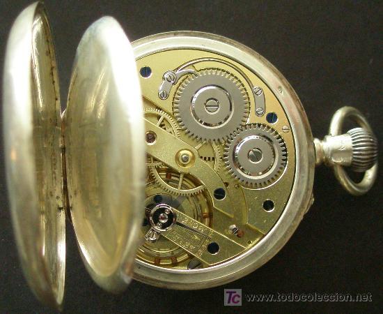 Relojes de bolsillo: ANTIGUO RELOJ BOLSILLO PLATA - FUNCIONANDO - Foto 4 - 17827968