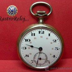 Relojes de bolsillo: ,,,RELOJ DE BOLSILLO,,,DORADO,,,DOS TAPAS . ( B - 422 ) .. Lote 23972816