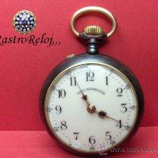 Relojes de bolsillo: ,,,PAUL HEMMELER,,,RELOJ BOLSILLO,,,PAVONADO,,,FUNIONANDO Y EN HORA. ( B - 4 ).. Lote 52477852