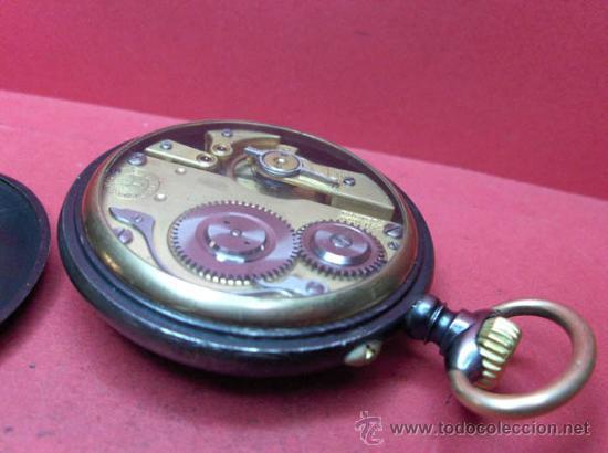 Relojes de bolsillo: ,,,PAUL HEMMELER,,,RELOJ BOLSILLO,,,PAVONADO,,,FUNIONANDO Y EN HORA. ( B - 4 ). - Foto 5 - 52477852