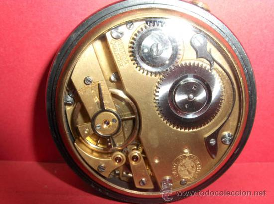 Relojes de bolsillo: ,,,PAUL HEMMELER,,,RELOJ BOLSILLO,,,PAVONADO,,,FUNIONANDO Y EN HORA. ( B - 4 ). - Foto 6 - 52477852