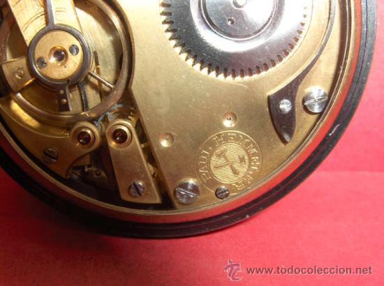 Relojes de bolsillo: ,,,PAUL HEMMELER,,,RELOJ BOLSILLO,,,PAVONADO,,,FUNIONANDO Y EN HORA. ( B - 4 ). - Foto 7 - 52477852