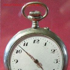 Relojes de bolsillo: RELOJ DE BOLSILLO DE ACERO. Lote 12286442