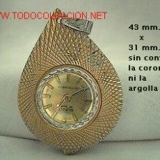 Orologi da taschino: RELOJ DE COLGAR DE CUERDA ANTIGUO FORMA DE PERA. Lote 27592053