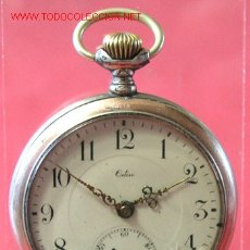 Relojes de bolsillo: RELOJ DE BOLSILLO ODIN DE PLATA. Lote 12313470