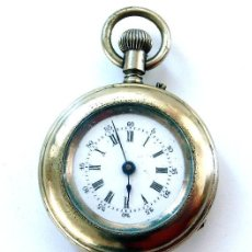 Relojes de bolsillo: RELOJ DE SEÑORA CON ESFERA ESMALTADA. Lote 26286648