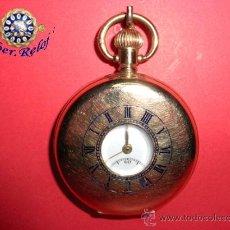 Relojes de bolsillo: ,,,CAZADOR,,,,VERTEX REVUE,,, CHAPADO ORO TRES TAPAS. ( B - 50 ).. Lote 25941467