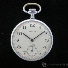 Relojes de bolsillo: BOLSILLO SWISS OSLEC INCABLOC.. Lote 26624027