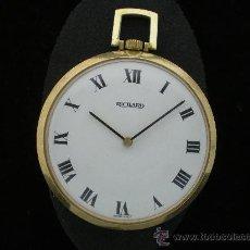 Relojes de bolsillo: BOLSILLO METAL CHAPADO RICHARD.. Lote 26669665