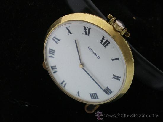 Relojes de bolsillo: BOLSILLO METAL CHAPADO RICHARD. - Foto 4 - 26669665