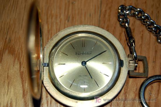 RELOJ DE BOLSILLO THERMIDOR - FUNCIONANDO (Relojes - Bolsillo Carga Manual)