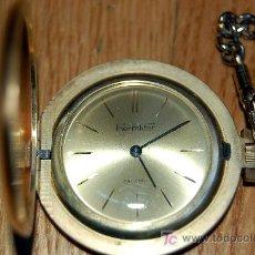 Relojes de bolsillo: RELOJ DE BOLSILLO THERMIDOR - FUNCIONANDO. Lote 27405974