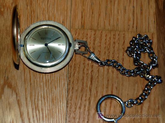 Relojes de bolsillo: RELOJ DE BOLSILLO THERMIDOR - FUNCIONANDO - Foto 4 - 27405974