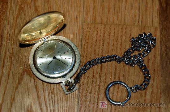 Relojes de bolsillo: RELOJ DE BOLSILLO THERMIDOR - FUNCIONANDO - Foto 3 - 27405974