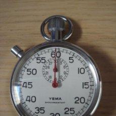Relojes de bolsillo: CRONOMETRO MARCA YEMA-SHOCKRESISTANT -FUNCIONANDO. Lote 25991310