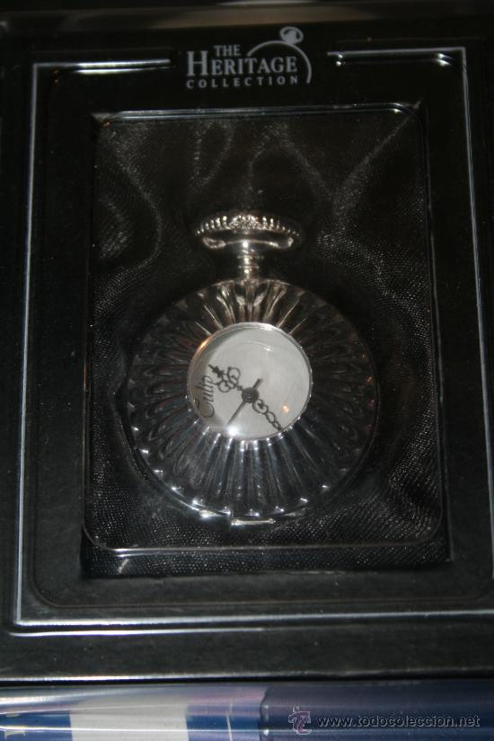 RELOJ DE CUERDA CON BAÑO DE PLATA. COLECCIÓN RELOJES DE EPOCA. Nº 20 (Relojes - Bolsillo Carga Manual)